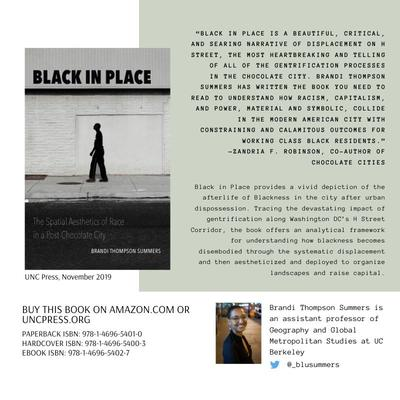 The Spatial Aesthetics of Race in a Post-Chocolate City - University of North Carolina Press