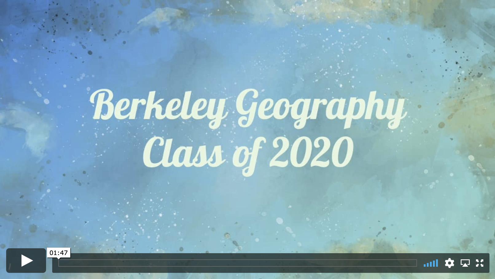 Class of 2020 Video